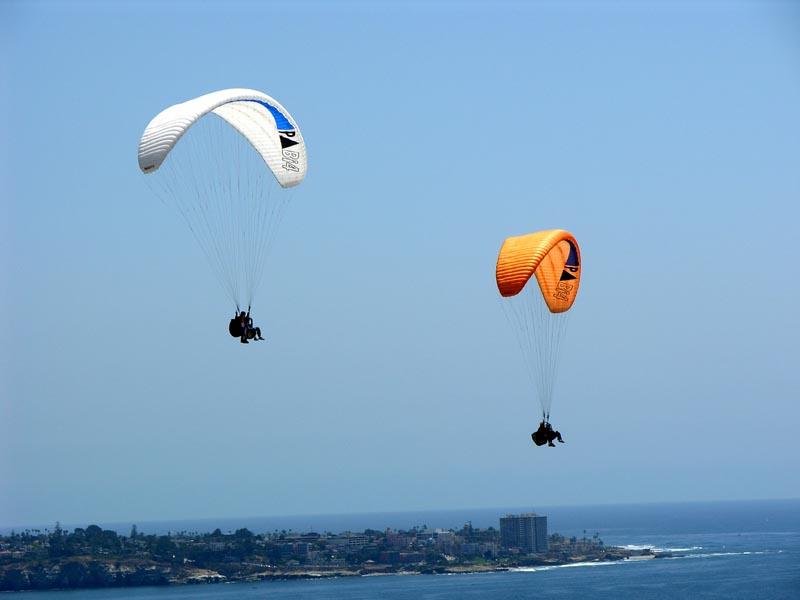Paragliding - Torrey Pines gliderport