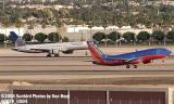 Continental Airlines B757-224 and Southwest Airlines B737-7H4 N463WN aviation stock photo #0879