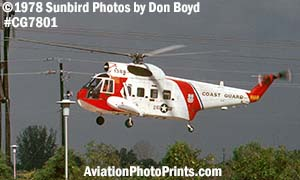 1978 - USCG Sikorsky HH-52A Sea Guard #CG-1388 helicopter military aviation stock photo #CG7801
