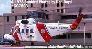 1978 - USCG Sikorsky HH-52A Sea Guard #CG-1388 helicopter military aviation stock photo #CG7803