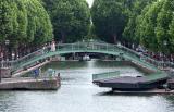 Bridge in movement, Canal St Martin