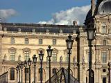 Louvre lamp posts