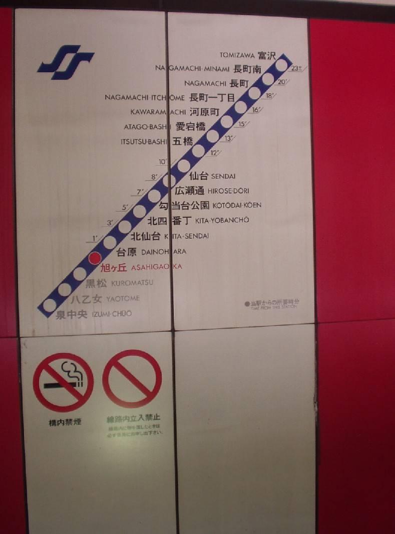 Sendais subway