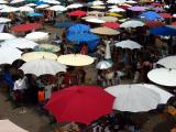 market umbrellas, Chiang Mai