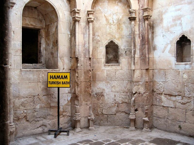 A palace hamam, or Turkish bath.