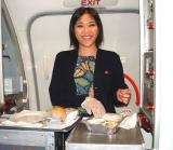 Lori (Class of 1998) from Basic Explorer to AQ CSA to AQ Flight Attendant!