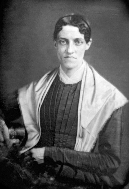 Harriett Newell (Day) Fisher, abt. 1852