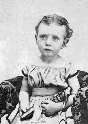Nancy Louise Hill, abt. 1872