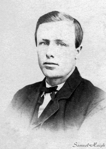 Samuel Haigh, young