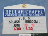 2004, Vacation Bible School at Beulah Chapel Church of the Nazarene in Niota, TN
