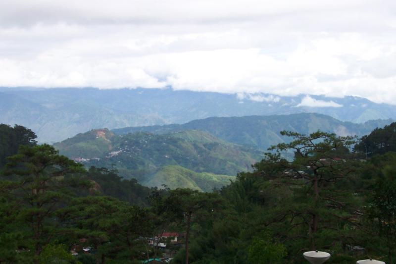 Baguio mountains
