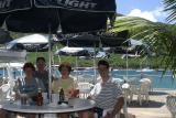 Lunch at Sopers Hole, Tortola
