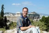 Roy on top of Philopappos Hill, Athens