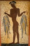 'The Fisherman' in mosaic