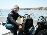 Diving at Paradise Beach