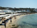 Platis Gialos, departure point to the other beaches