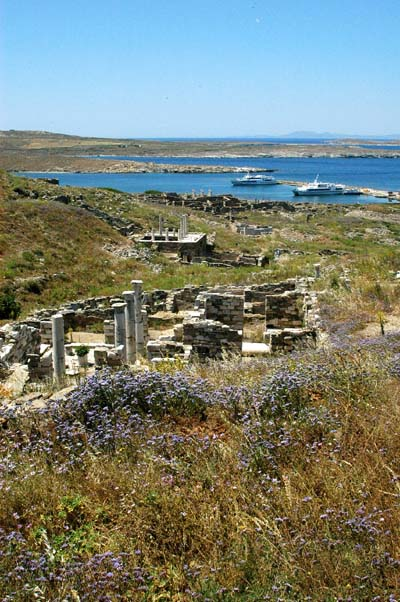 Theatre district, Delos