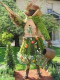 Jardin des Serres d'Auteuil: Mosaïculture