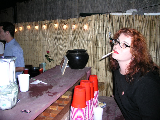 Alex at the Bar