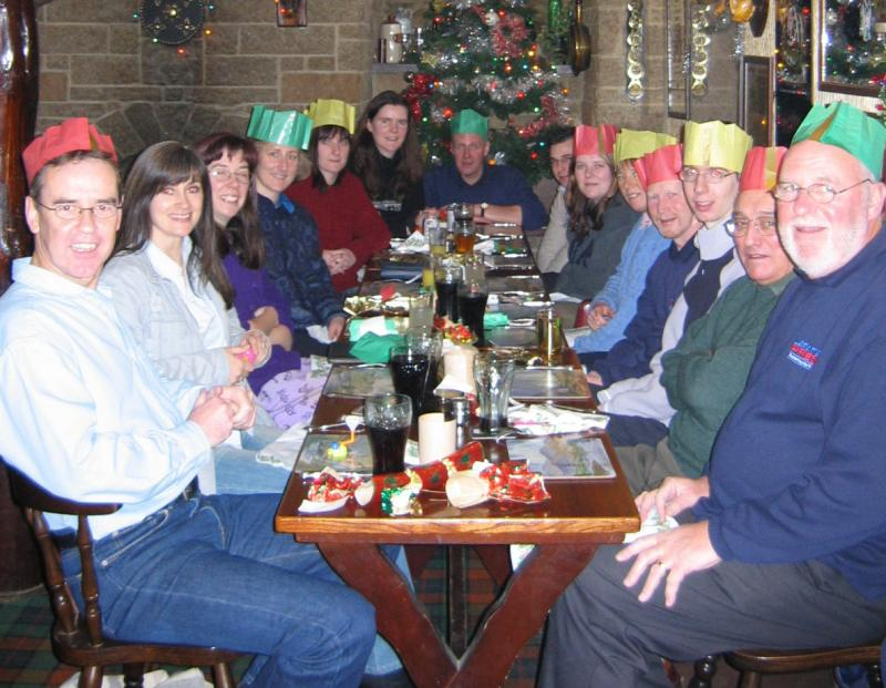 Christmas Lunch Cairn Hotel 2003