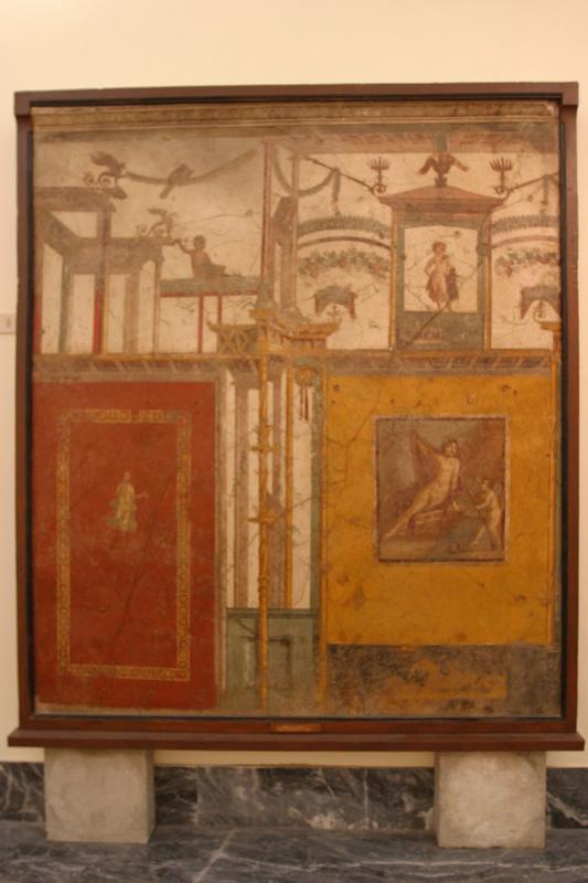 Pompeii treasures in Museum in Naples