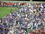 TCU Fans Endzone