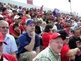 Fans Behind Me
