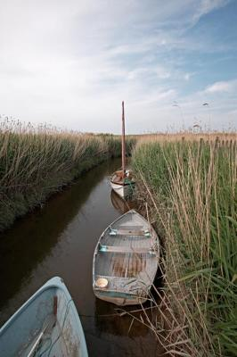 Boats at Rest Cley Norfolk.