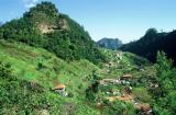 Région montagneuse de Madère