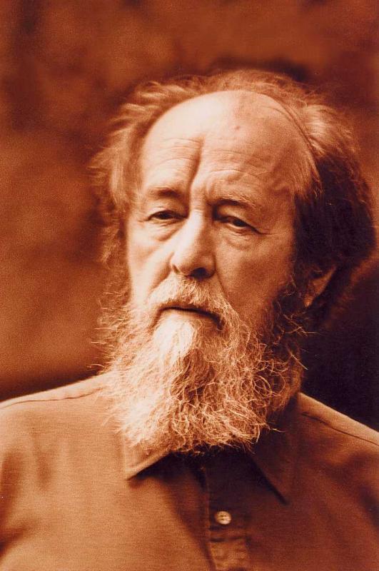 Portrait of Aleksandr Isayevich Solzhenitsyn