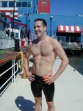 Swim NYC Flag Day Intrepid Swim