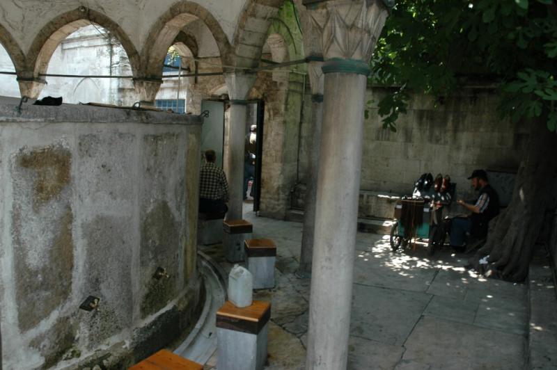 Istanbul at Rustem Pasha mosque