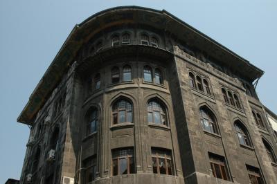 Istanbul European style buildings