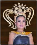 Traditional Thai dancer
