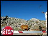 Entering Mt. Nemrut National Park, a UNESCO historical site