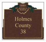 Holmes County Historical Markers