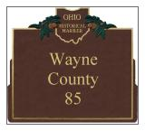 Wayne County Historical Markers