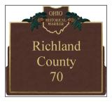Richland County Historical Markers
