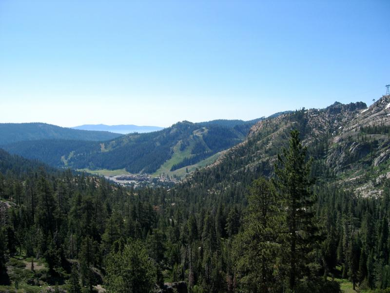 View of Squaw Valley