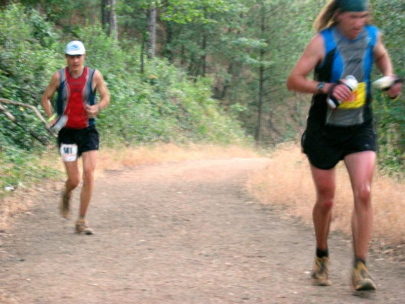 Scott and Dusty run up to Robie Pt.<br>98.9 Miles</br>