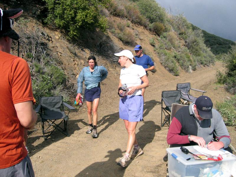 Ann, Laura & Carl back at Top of Gridley