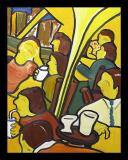 Sidelong Cafe (24x30)