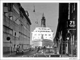 Ship in the street. - Copenhagen in the 70's