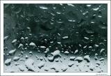 Raindrops.