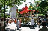 A Chariot at the India Festival in Washington Sq Park