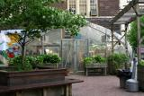 Greenhouse at the Right of the Entrance