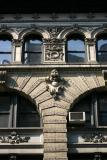 NYU Facade at Washington Place near Green Street