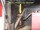 BATTERY COMPARTMENT AIR CHUCK
