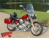 '96 XV1100 VIAGRO CORBIN SEAT MAC EXHAUST LEATHERLIKE BAGS KJS CUSTOM CANDY PAINT AND MUCH MORE