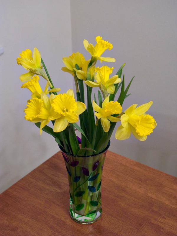 Lillies in Vase